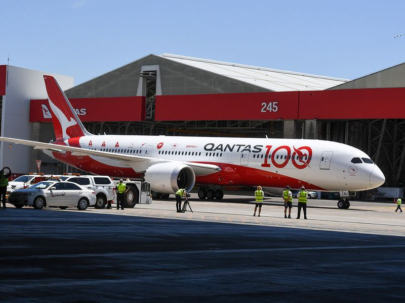 Qantas flight QF7879