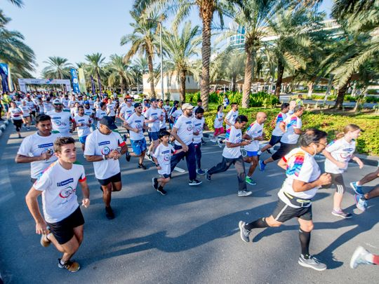 Around 10000 UAE residents participate in Unity Run in Dubai - Gulf News