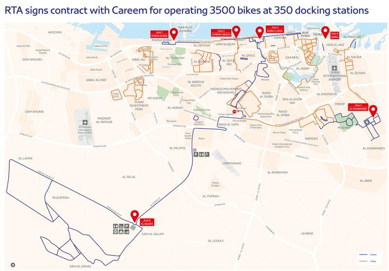 EXPLORER_Careem_RTA_Cycle Master Plan Map V2_1(English)-1573893538916