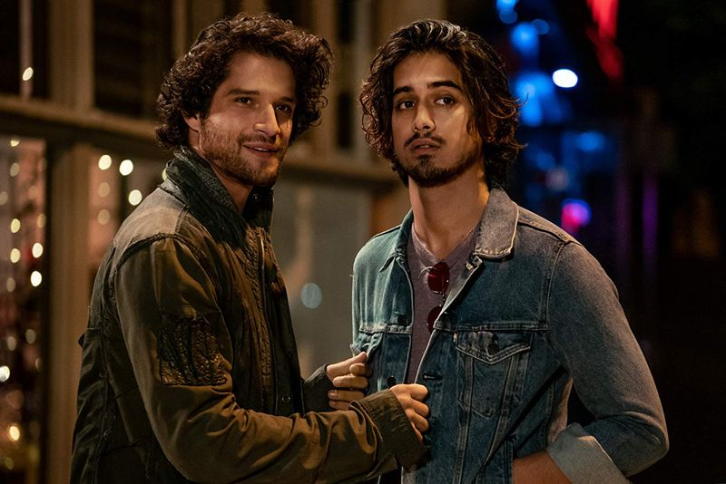 Tyler Posey and Avan Jogia in NOW APOCALYPSE-1573908087316
