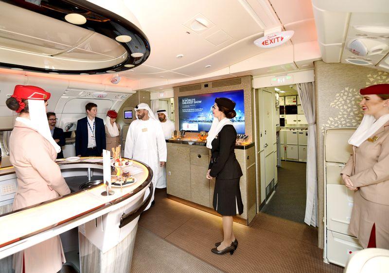 Dubai Airshow Emirates A380