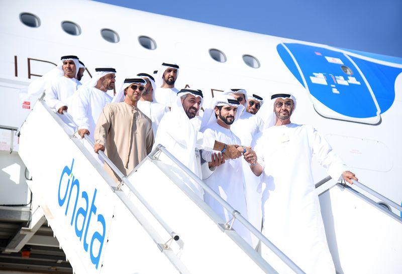Dubai Airshow Emirates