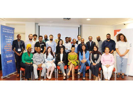 Dubai Chamber GBF startup community for web