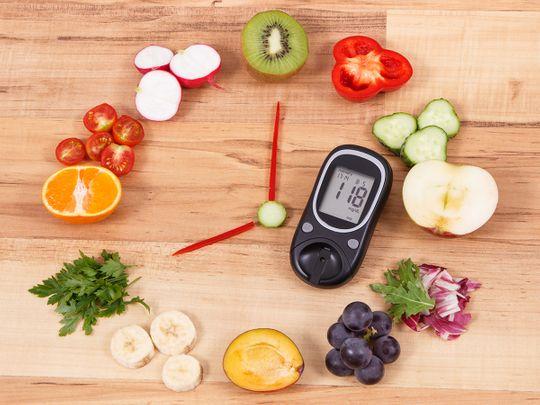 Dubai Health Authority diabetes diet