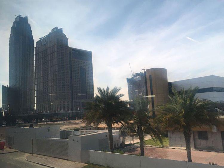 Dubai weather clear day
