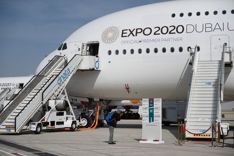Emirates A380 Expo 2020