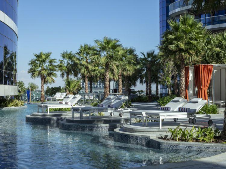 Paramount Hotel Dubai - Malibu Deck & Pool-1573983517402