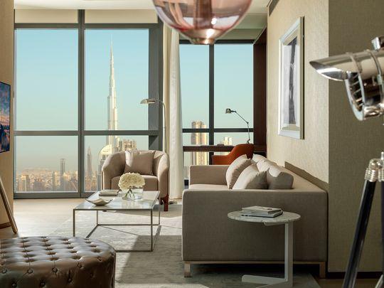 Paramount Hotel Dubai - Premiere Suite - Living Room 2-1573983523797