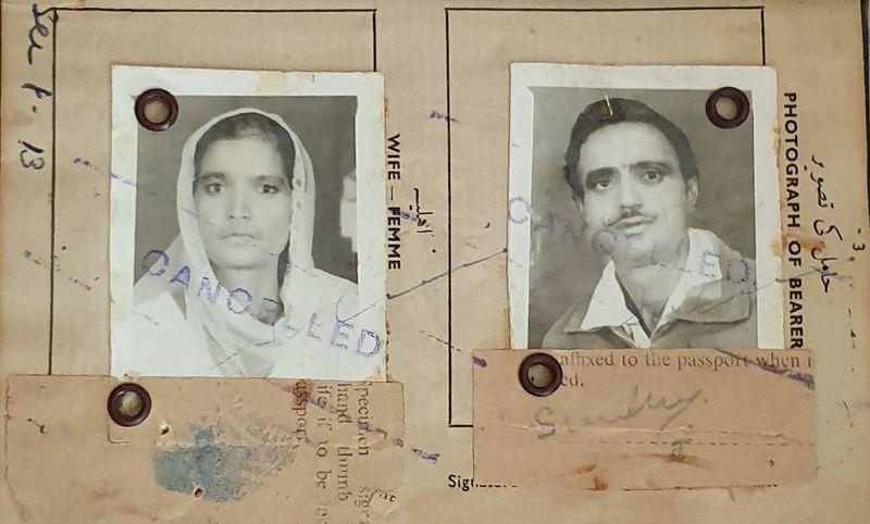 Sardar parents Sharjah