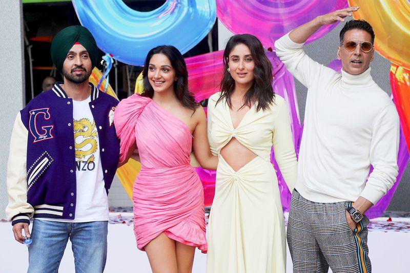 Akshay Kumar, Kareena Kapoor, Kiara Advani and Diljit Dosanjh