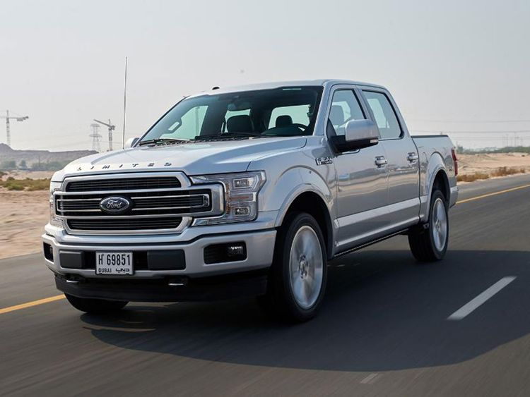 Review Ford F 150 Limited Test Drives Gulf News
