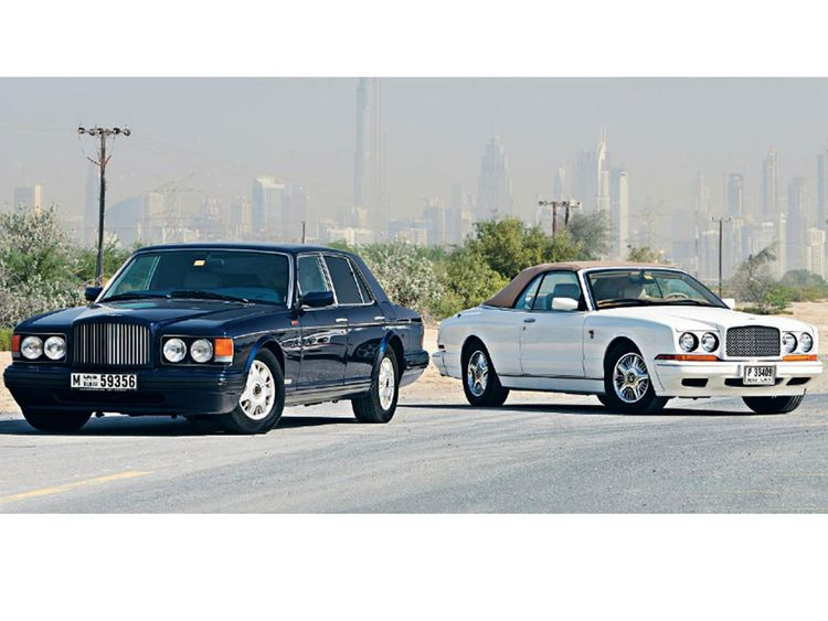 Auto James and his classic Bentleys
