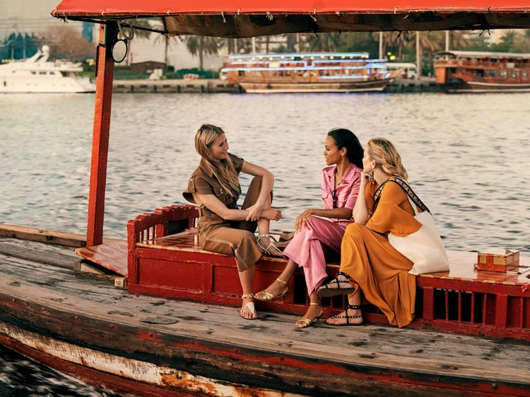 Gwyneth Paltrow, Zoe Saldana, Kate Hudson