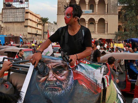 REG 191118 IRAQ PROTEST IRAN-1574066172510