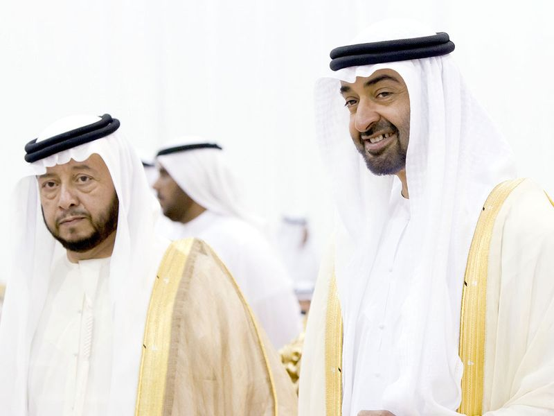 Shaikh Sultan Bin Zayed Al Nahyan and MBZ
