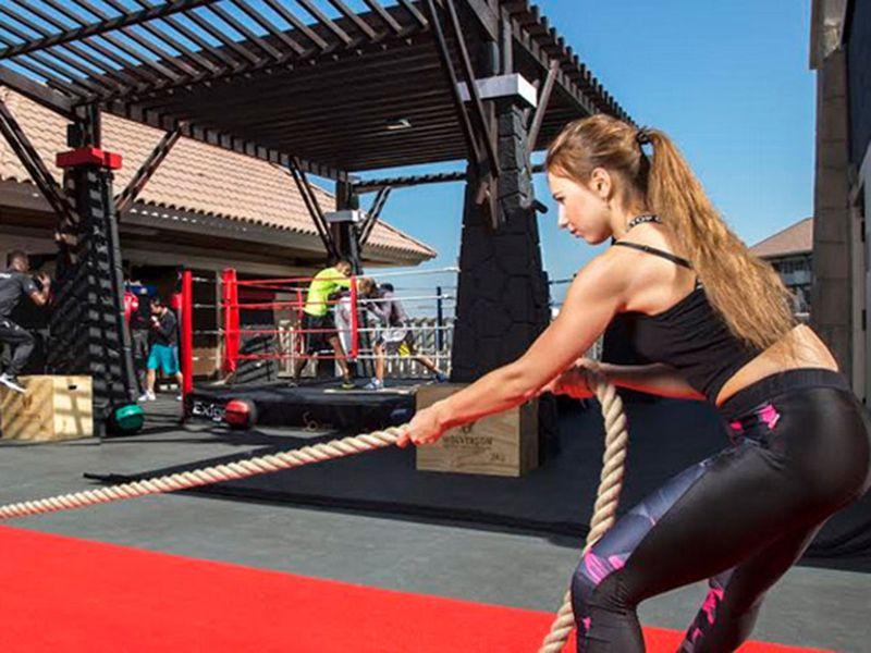 Sofitel the palm Fitness Challenge