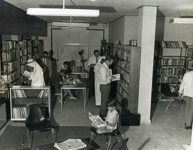 Margaret Bullard and the first library in Dubai