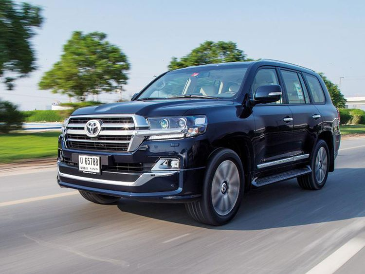 Auto 2019 Toyota Land Cruiser GXR Grand Touring