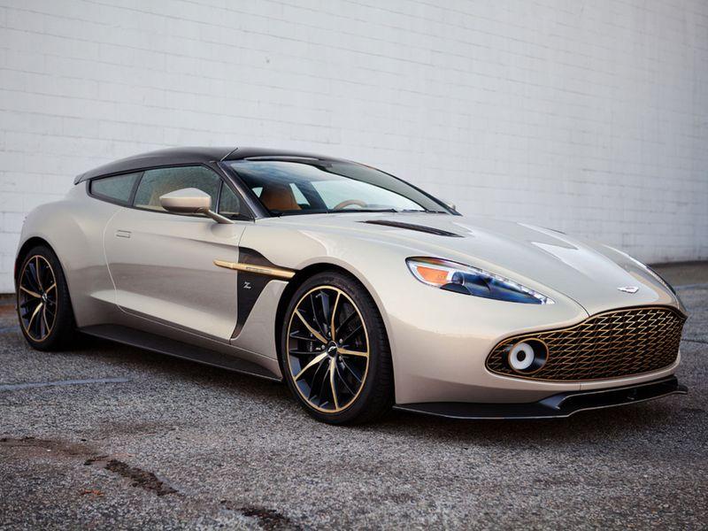 Auto Aston Zagato
