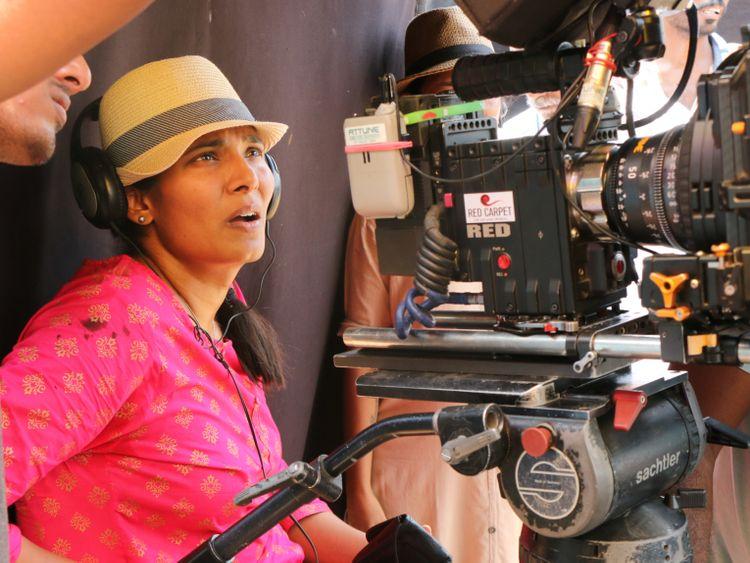 Madhumita on the sets of 'KD'2-1574258678511