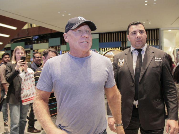 Steve Madden at the brands 30th Anniversary Celebration at Dubai Mall-1574255078627