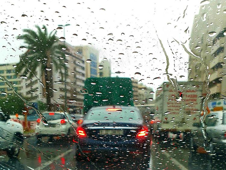 191121 traffic rain