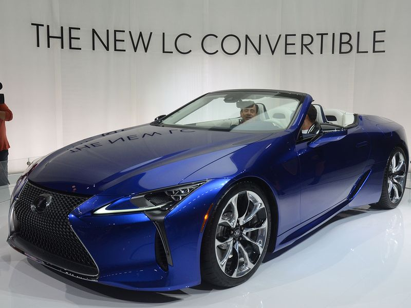 Auto LA Show lexus