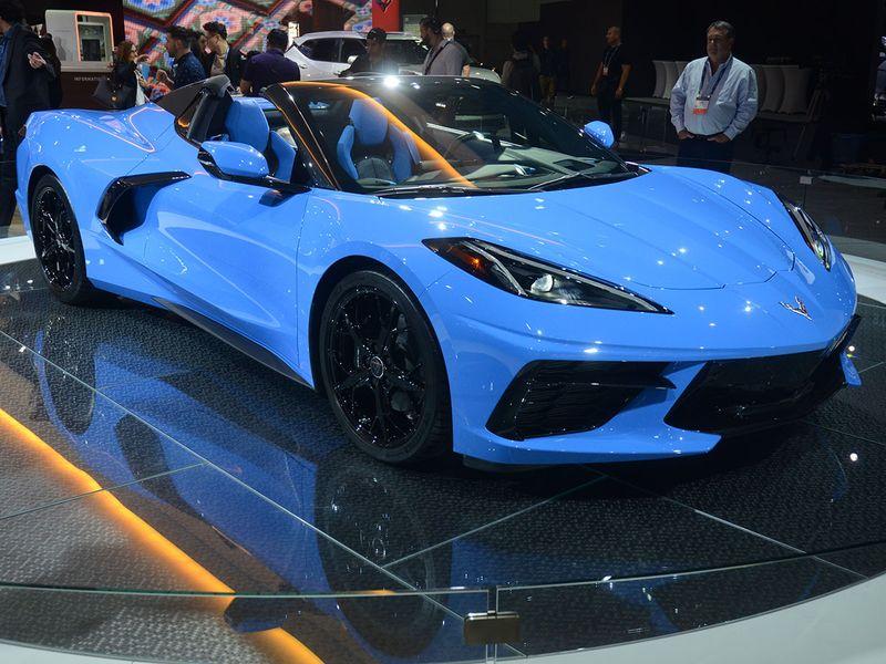 Auto LA show Corvette