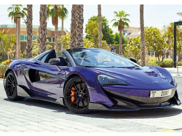 Auto McLaren 600 LT Spider