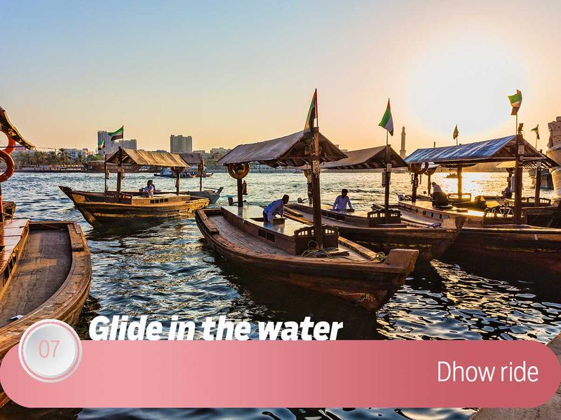 Dhow Ride