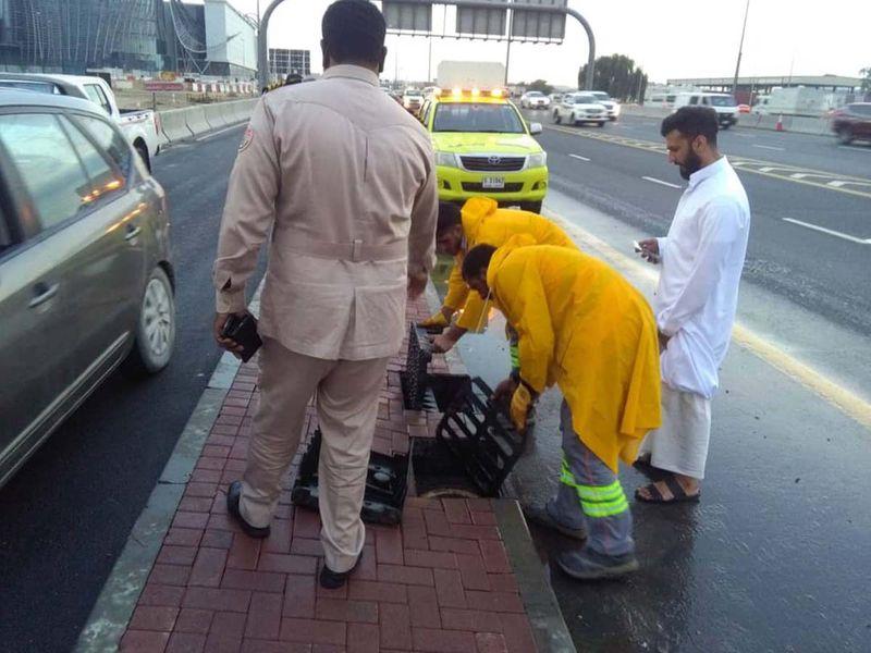 Dubai clean up
