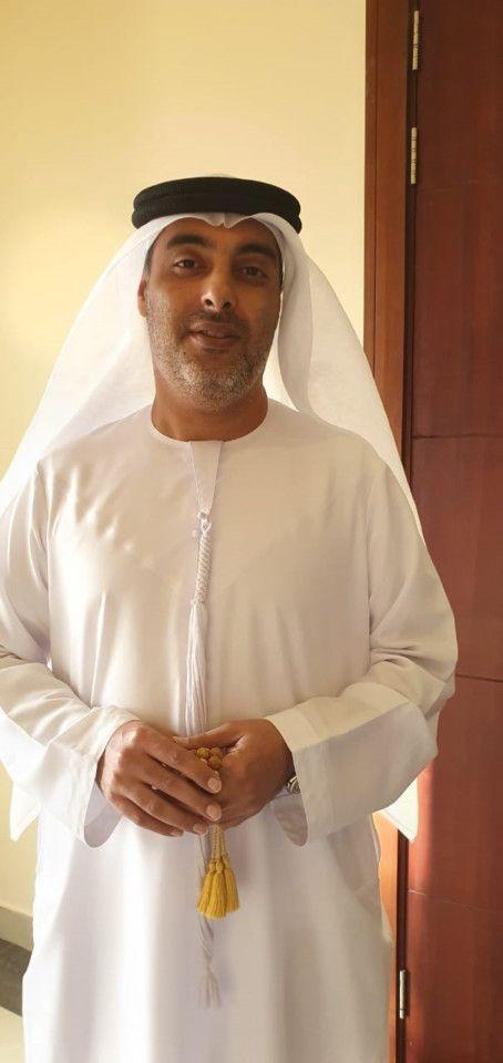 NAT 191121 Khalid Al Zarouni, voter-1574344242303