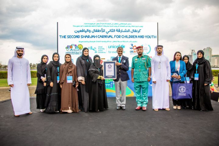 NAT 191121 Sharjah Baby Friendly Office Creates Guinness World Record 2-1574340651128