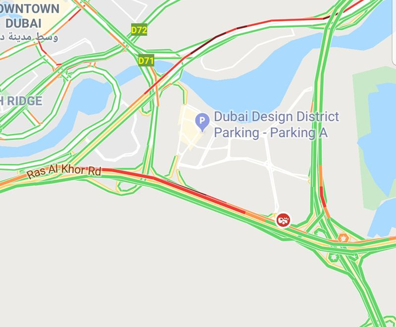 Traffic on November 21, 2019