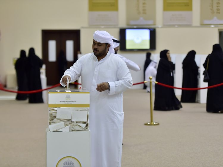 NAT 191123 Sharjah Voting CE05-1574518643656