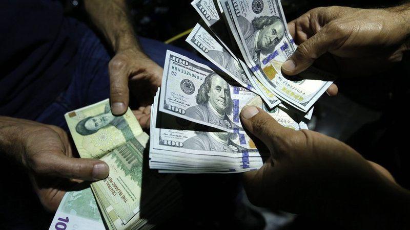 Iranian rial US dollar