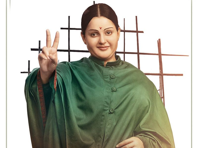 TAB Kangana Ranaut as Jayalalithaa-1574590174112