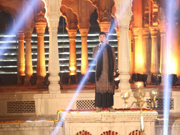 Ali Zafar performing at Hazuri Bagh-1574660969849