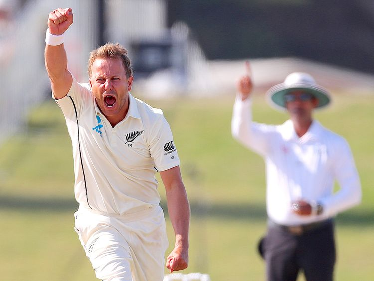New Zealand's Neil Wagner
