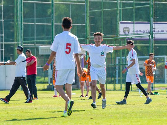 The Abu Dhabi Schools Champions got under way across Abu Dhabi and Al Ain