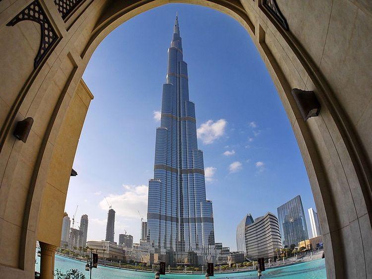 The Burj Khalifa is Dubai's most recognized Guinness World Records holder