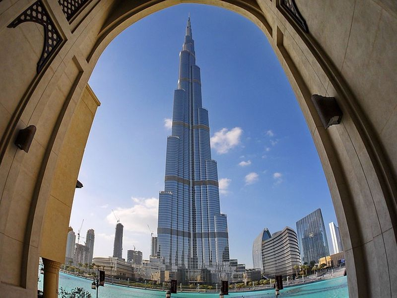 The Burj Khalifa is Dubai's most recognized Guinness World Records holder