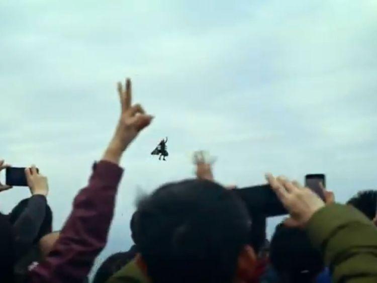human flight in China