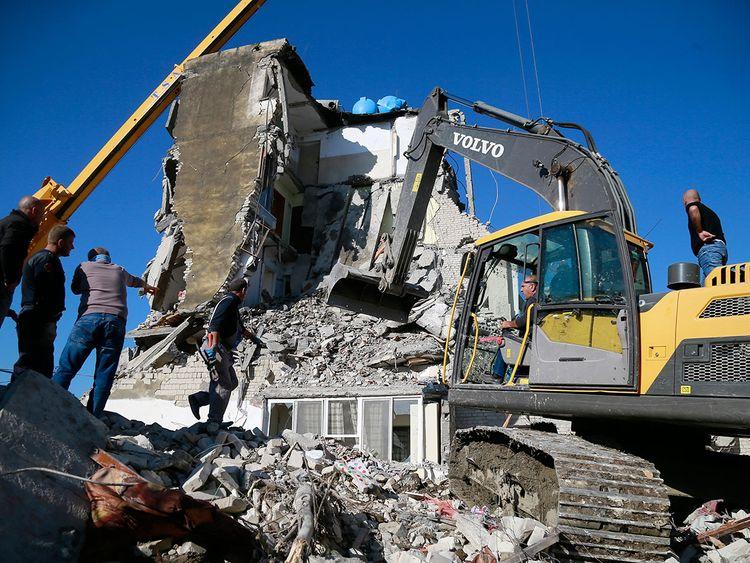 Albania quake