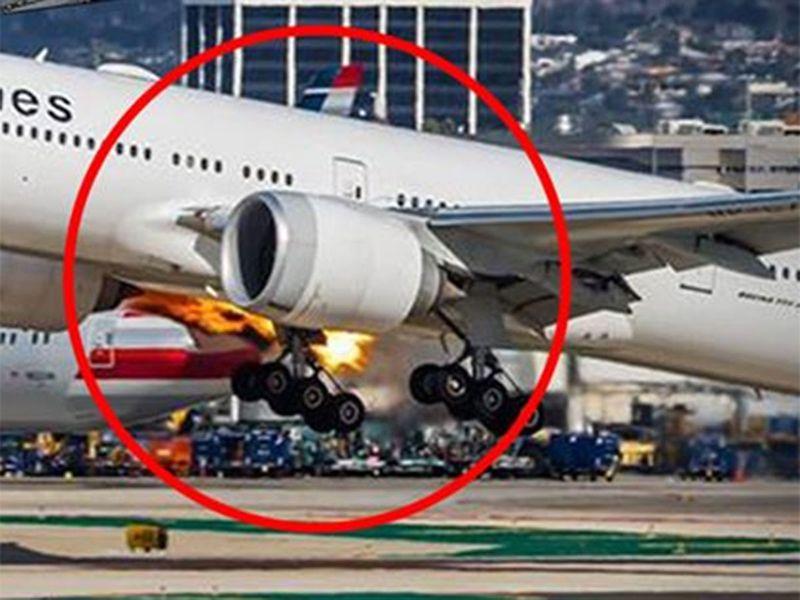 PAL Takeoff flames