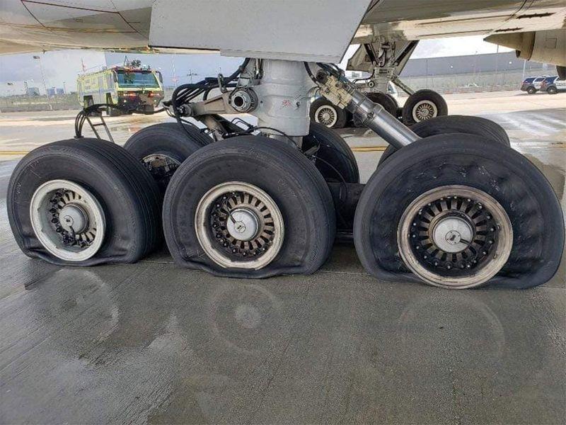 PR113 Tyres flat