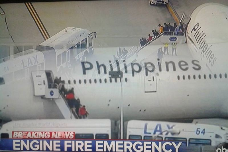 Passengers of PAL flight PR113