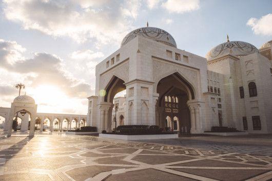 Qasr Al Watan - Full Exterior Side View-1574777428219