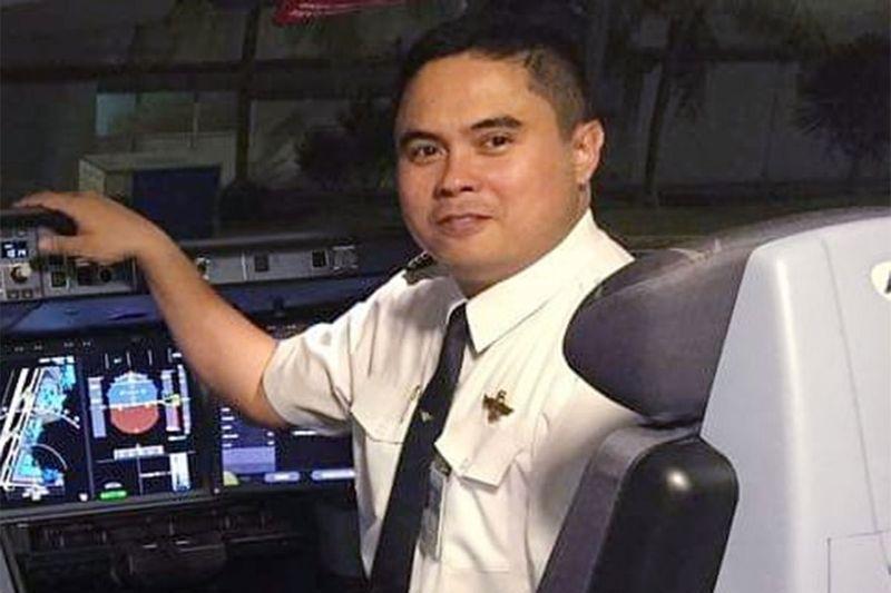 The Boeing 777 Capt. Triston Ray Abracia Simeon Simeo