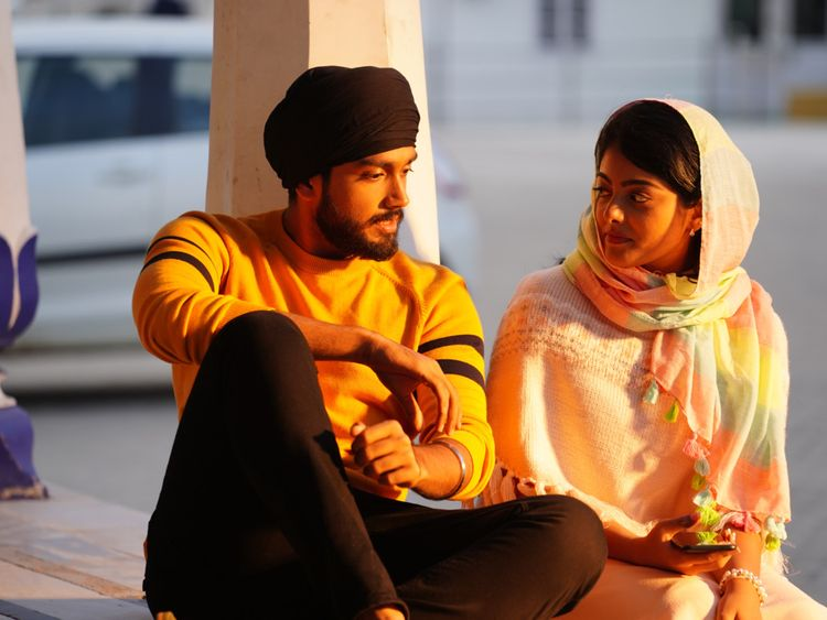 Kalidas Jayaram with Merin Philip in Happy Sardar (2)-1574835872002
